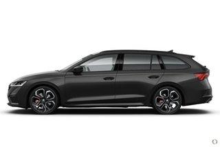 2021 Skoda Octavia NX MY21 RS DSG Black 7 Speed Sports Automatic Dual Clutch Wagon.