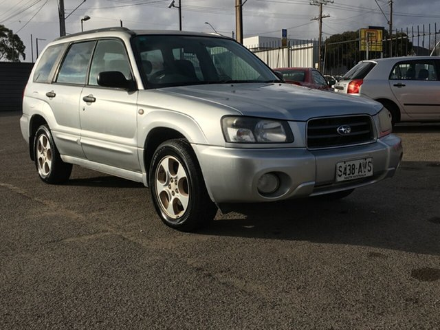 Used Subaru Forester 79V MY04 XS AWD Luxury Blair Athol, 2003 Subaru Forester 79V MY04 XS AWD Luxury Silver 4 Speed Automatic Wagon