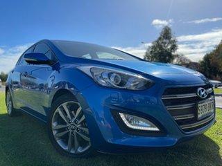 2016 Hyundai i30 GD5 Series II MY17 SR Premium Blue 6 Speed Sports Automatic Hatchback.