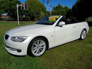 2013 BMW 3 Series E93 MY1112 320d Steptronic White 6 Speed Sports Automatic Convertible