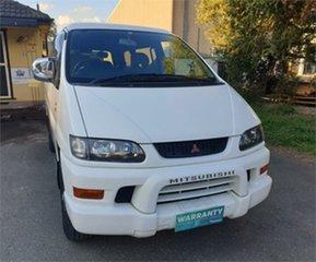 2002 Mitsubishi Delica PD6W Limited 20th Anniversary White Sports Automatic Van Wagon.