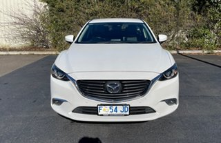 2016 Mazda 6 GJ1032 Touring SKYACTIV-Drive White 6 Speed Sports Automatic Wagon.