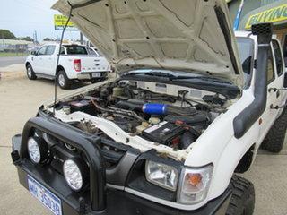 2003 Toyota Hilux 140 - White 5 Speed Manual Utility.