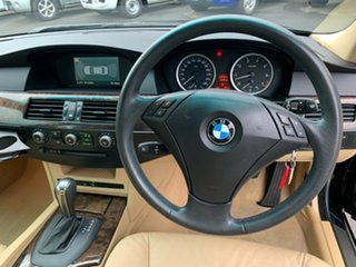 2004 BMW 5 Series E60 530i Steptronic M Sport Black 6 Speed Sports Automatic Sedan