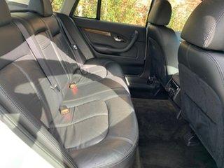 2005 Ford Fairlane BA Mk II Ghia White 6 Speed Sports Automatic Sedan