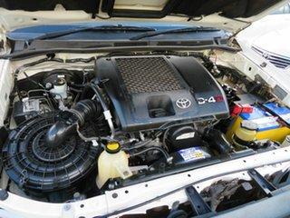 2008 Toyota Hilux KUN26R 08 Upgrade SR5 (4x4) White 5 Speed Manual X Cab Pickup