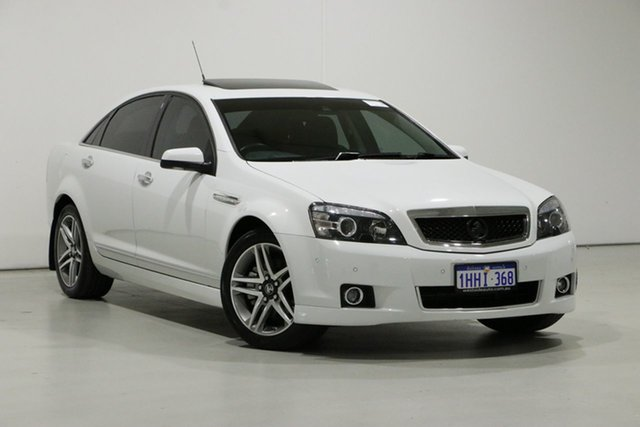 Used Holden Caprice WN MY16 V Bentley, 2016 Holden Caprice WN MY16 V White 6 Speed Auto Active Sequential Sedan