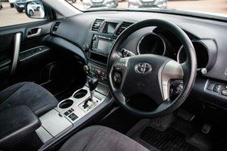 2010 Toyota Kluger GSU45R Altitude AWD White 5 Speed Sports Automatic Wagon