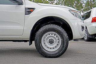 2013 Ford Ranger PX XL Hi-Rider White 6 Speed Sports Automatic Utility