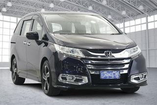 2015 Honda Odyssey RC MY15 VTi-L Dark Blue 7 Speed Constant Variable Wagon.