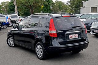2009 Hyundai i30 FD MY09 SX cw Wagon Black Pearl 4 Speed Automatic Wagon.