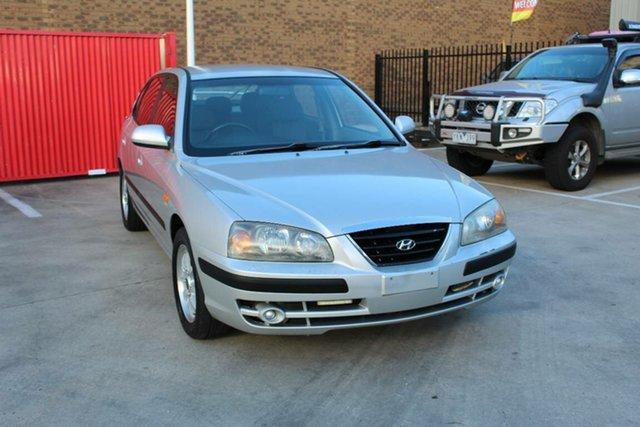 Used Hyundai Elantra XD MY05 FX 2.0 HVT Hoppers Crossing, 2005 Hyundai Elantra XD MY05 FX 2.0 HVT Silver 4 Speed Automatic Hatchback
