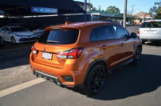 2020 Mitsubishi ASX XD MY20 MR (2WD) Orange Continuous Variable Wagon.