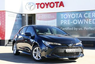2020 Toyota Corolla Mzea12R Ascent Sport Peacock Black 10 Speed Constant Variable Hatchback.