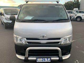 2012 Toyota HiAce KDH201R MY12 LWB Silver 5 Speed Manual Van