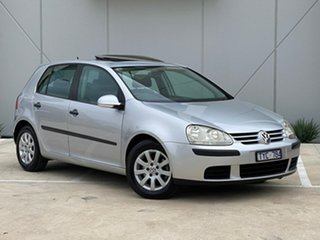 2005 Volkswagen Golf V Comfortline Silver 6 Speed Manual Hatchback.