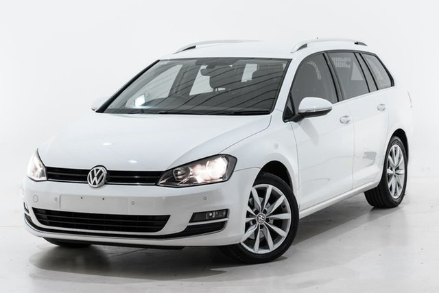 Used Volkswagen Golf VII MY17 110TSI DSG Highline Berwick, 2017 Volkswagen Golf VII MY17 110TSI DSG Highline White 7 Speed Sports Automatic Dual Clutch Wagon