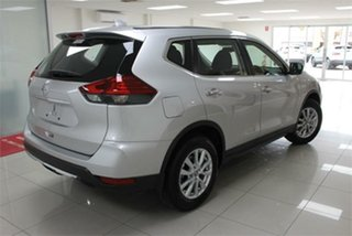 2021 Nissan X-Trail T32 ST Brilliant Silver 7 Speed Constant Variable Wagon.
