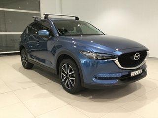 2018 Mazda CX-5 KF4WLA GT SKYACTIV-Drive i-ACTIV AWD Eternal Blue/kf 6 Speed Sports Automatic Wagon.