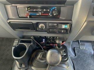 2019 Toyota Landcruiser VDJ79R GX (4x4) White 5 Speed Manual Cab Chassis