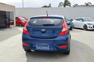 2016 Hyundai Accent RB4 MY17 Active Blue 6 Speed Constant Variable Hatchback