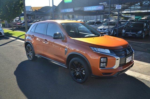 Used Mitsubishi ASX XD MY20 MR (2WD) Toowoomba, 2020 Mitsubishi ASX XD MY20 MR (2WD) Orange Continuous Variable Wagon