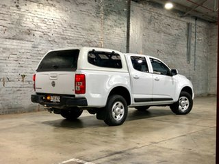 2014 Holden Colorado RG MY15 LS Crew Cab 4x2 White 6 Speed Sports Automatic Cab Chassis