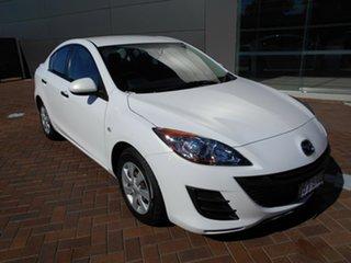 2009 Mazda 3 BL10F1 Neo White 6 Speed Manual Sedan.