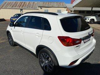 2017 Mitsubishi ASX XC MY18 LS ADAS (2WD) White Continuous Variable Wagon