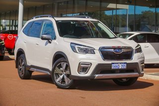2021 Subaru Forester S5 2.5I-S White Constant Variable SUV.