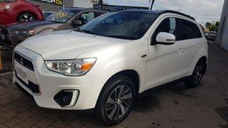 2014 Mitsubishi ASX XB MY15 XLS (4WD) White 6 Speed Automatic Wagon.