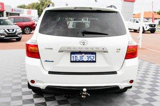 2010 Toyota Kluger GSU45R Altitude AWD White 5 Speed Sports Automatic Wagon.