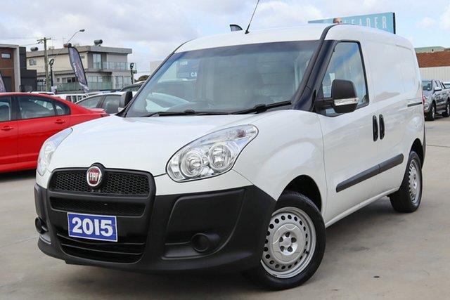 Used Fiat Doblo 263 Low Roof SWB Coburg North, 2015 Fiat Doblo 263 Low Roof SWB White 6 Speed Manual Van