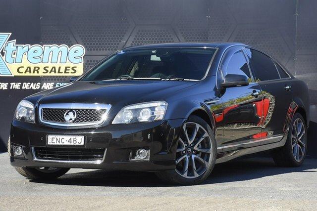 Used Holden Caprice WN II MY16 V Campbelltown, 2016 Holden Caprice WN II MY16 V Black 6 Speed Sports Automatic Sedan