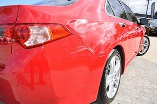2013 Honda Accord Euro CU MY13 Luxury Navi Red 5 Speed Automatic Sedan