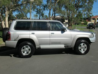 2011 Nissan Patrol GU 7 MY10 ST Silver 5 Speed Manual Wagon.
