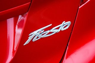 2015 Ford Fiesta WZ MY15 Trend PwrShift Red 6 Speed Sports Automatic Dual Clutch Hatchback