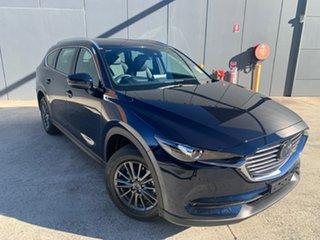 2021 Mazda CX-8 KG2WLA Touring SKYACTIV-Drive FWD Deep Crystal Blue 6 Speed Sports Automatic Wagon.