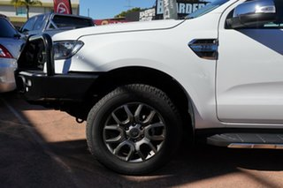2017 Ford Ranger PX MkII MY17 Update XLT 3.2 (4x4) White 6 Speed Automatic Double Cab Pick Up.