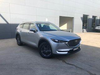 2020 Mazda CX-8 KG2WLA Touring SKYACTIV-Drive FWD Sonic Silver 6 Speed Sports Automatic Wagon.