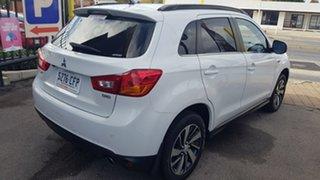 2014 Mitsubishi ASX XB MY15 XLS (4WD) White 6 Speed Automatic Wagon