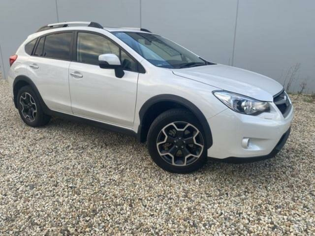 Used Subaru XV MY13 2.0I-S Wangaratta, 2012 Subaru XV MY13 2.0I-S White Continuous Variable Wagon