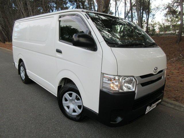 Used Toyota HiAce KDH201R MY12 LWB Reynella, 2013 Toyota HiAce KDH201R MY12 LWB White 5 Speed Manual Van