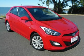 2012 Hyundai i30 GD Active Red 6 Speed Manual Hatchback.