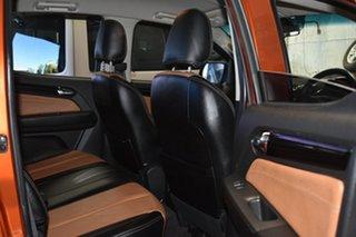 2015 Holden Colorado RG MY16 LTZ (4x4) Orange 6 Speed Automatic Crew Cab Pickup