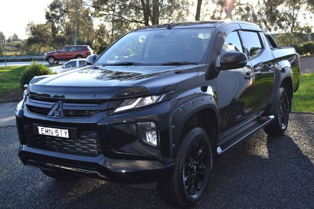 Used Mitsubishi Triton MR MY21 GSR Double Cab Maitland, 2020 Mitsubishi Triton MR MY21 GSR Double Cab Black 6 Speed Sports Automatic Utility