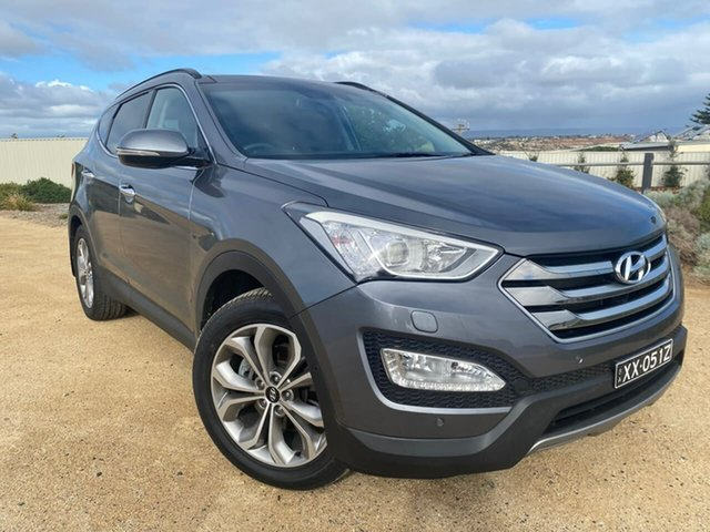 Used Hyundai Santa Fe DM MY14 Highlander Christies Beach, 2014 Hyundai Santa Fe DM MY14 Highlander Grey 6 Speed Sports Automatic Wagon