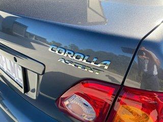 2008 Toyota Corolla ZRE152R Ascent Grey 4 Speed Automatic Sedan