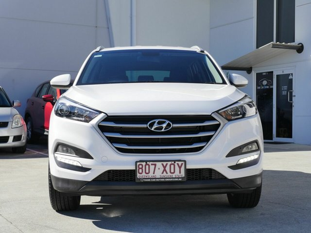 Used Hyundai Tucson TL2 MY18 Active 2WD Capalaba, 2017 Hyundai Tucson TL2 MY18 Active 2WD White 6 Speed Sports Automatic Wagon