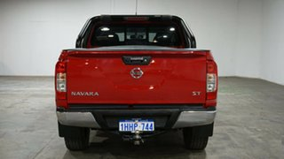 2018 Nissan Navara D23 S3 ST Black Edition Red 7 Speed Sports Automatic Utility